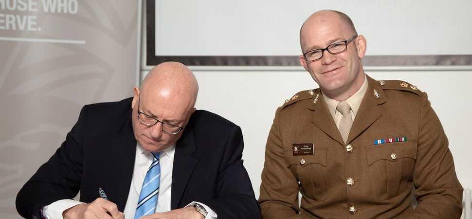 Veterans skills set them ahead says leading civil engineer boss Kevin Byrne