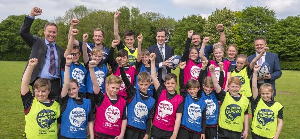 George Osborne MP helps Cheshire school children tackle money skills