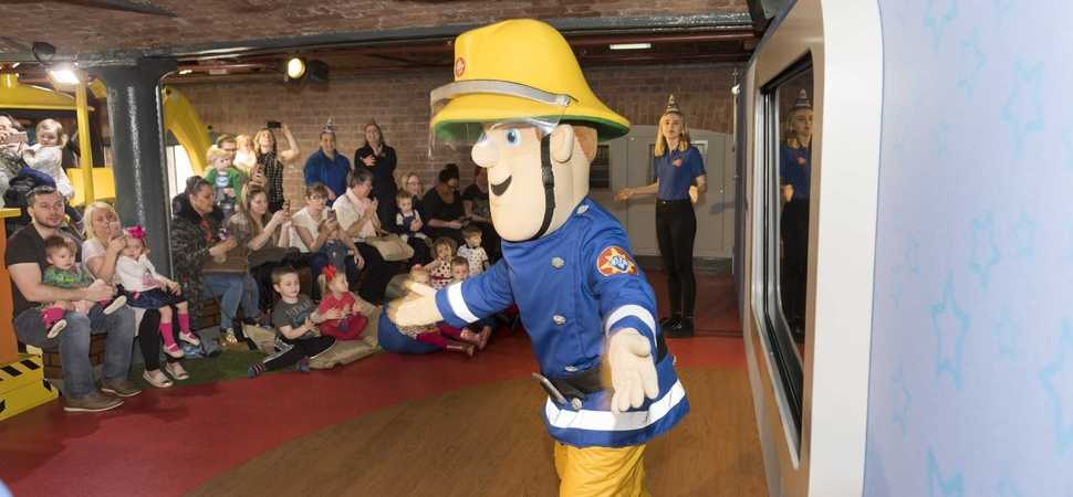 Fireman Sam and The Fat Controller set for Library half-term takeover