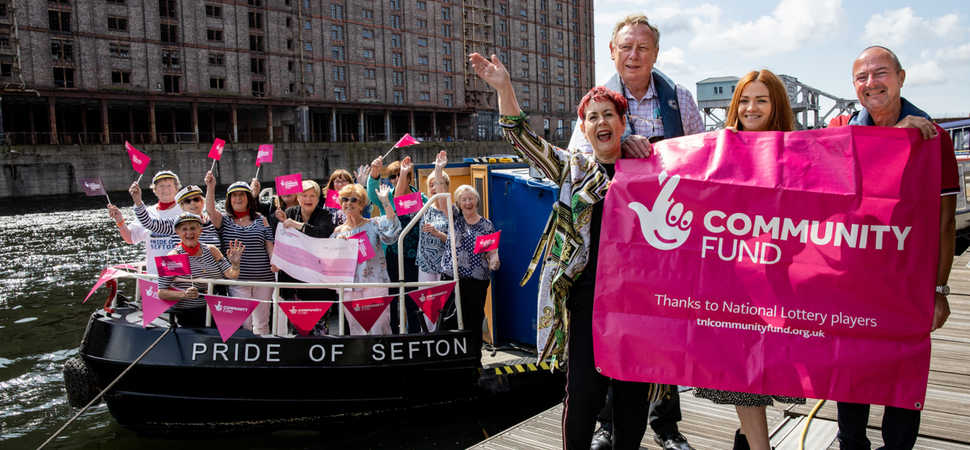 £10,000 National Lottery funding boost for Pride of Sefton canal boat