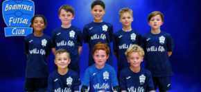 Futsal club score cash donation