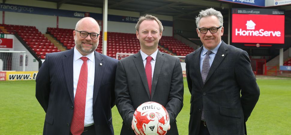 HomeServe Membership announce five-year partnership with Walsall Football Club