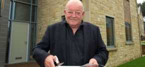 Tim Healy opens Northumberland housing development