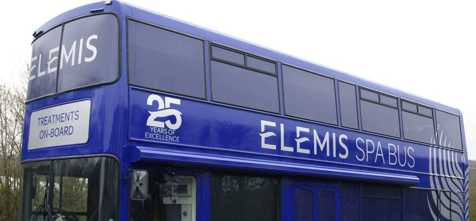 Elemis Spa Bus gets set to visit NW