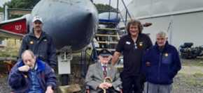 A flying visit for Knebworth resident is dream come true