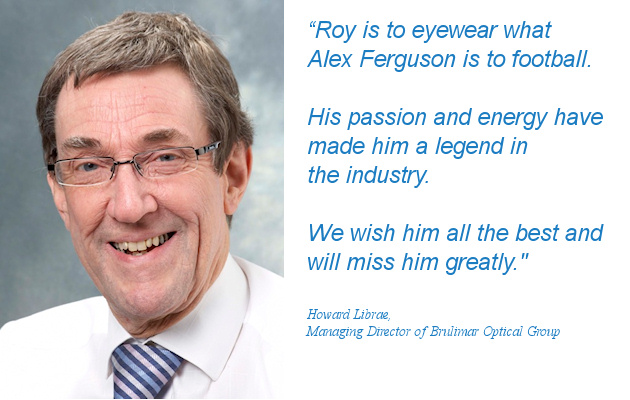 A million miles later, eyewear legend Roy Shepherd sets sights on retirement