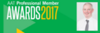 Globally recognised local accountancy professional shortlisted at AAT Awards