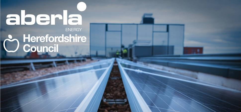 Aberla Energy delivers solar PV for Herefordshire Council