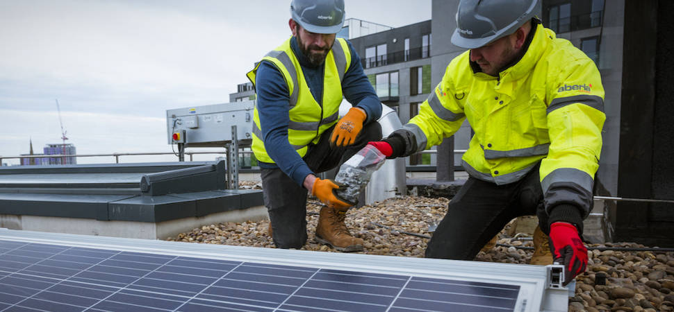 Aberla Energy secures 3-year solar PV contract