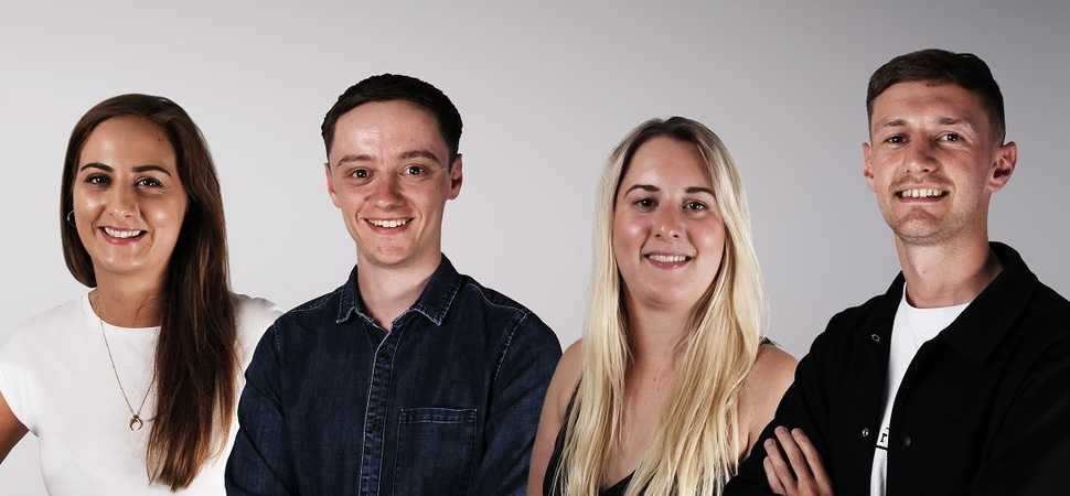 Four New Hires for Award Winning Manchester Creative Agency