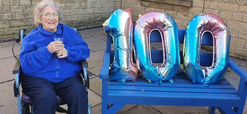 Accrington care home centenarian celebrates milestone birthday