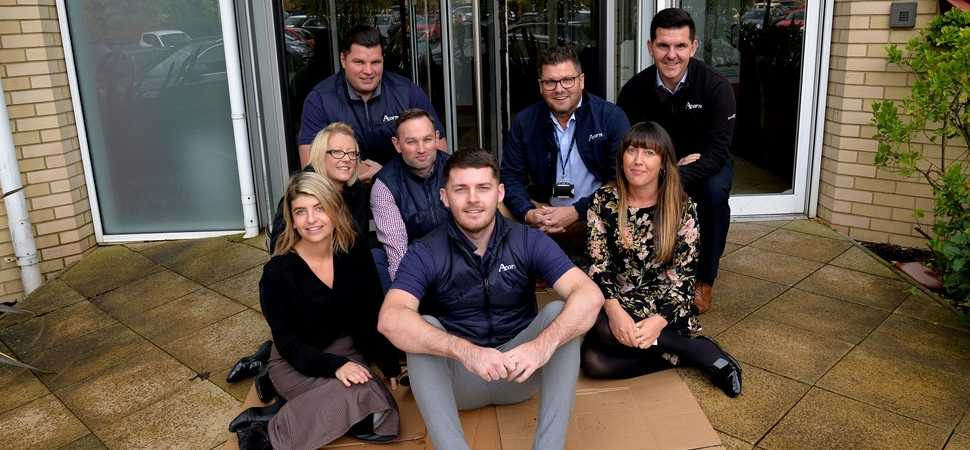 Acorn Recruitment is the first corporate partner signed up to the Worlds Big Sleep Out in Wales