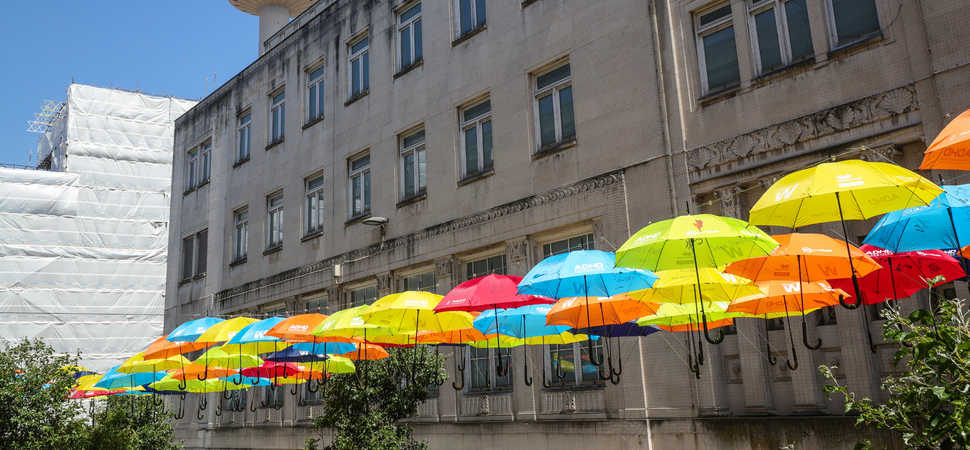 Celebrated art installation Umbrella Project returns to Liverpool for summer