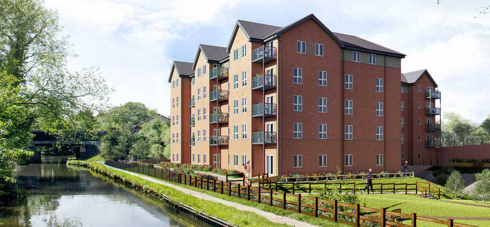 Building work on luxury retirement living apartments will complete three weeks ahead of schedule