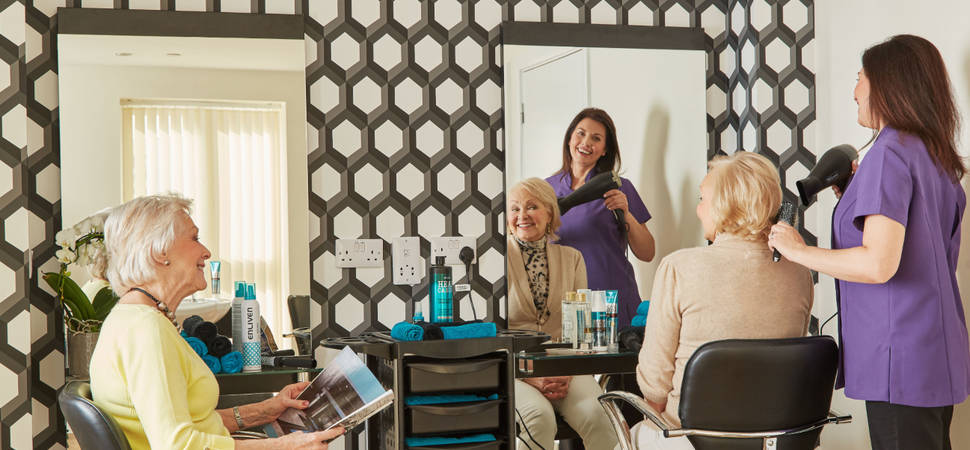 Hair salons prove popular in retirement living communities