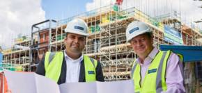 Local MP visits construction site for Heaton Mersey retirement community