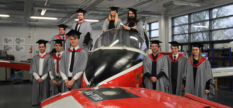 Hartlepool students celebrate at first ever engineering graduation ceremony