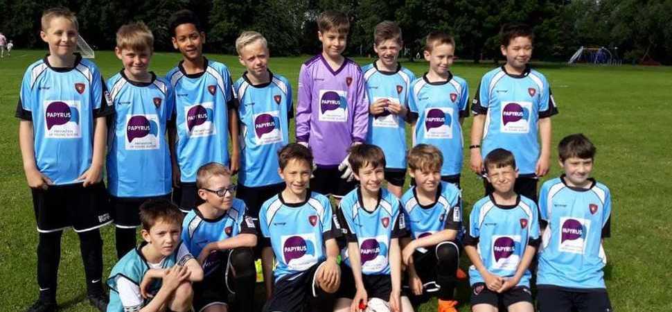 Chellaston football club score cash donation