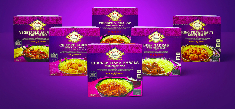 Pataks Spices Up Frozen Ready Meals Sector With Launch of New Range