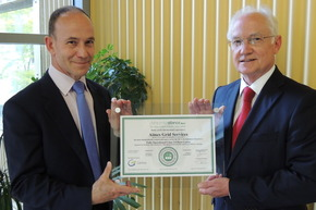 AIMES becomes first in EU awarded new Data Centre Alliance certification