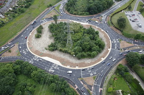 Eric Wright Completes £2m Roundabout Work At Ainley Top