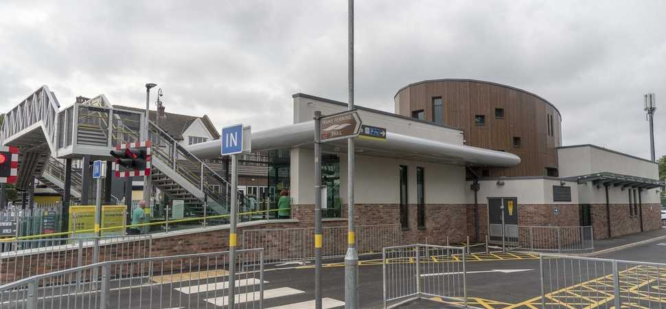 Merseyrail's Ainsdale train station wins prestigious sustainability award