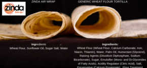 Zinda AirWrap - Why we are proud to be UK's only completely Trans Fat Free Wrap