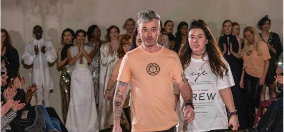 Liverpool salon owner steals the show at Milan Fashion Week catwalk show