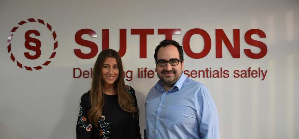 Double marketing appointment for North West based logistics specialist Suttons