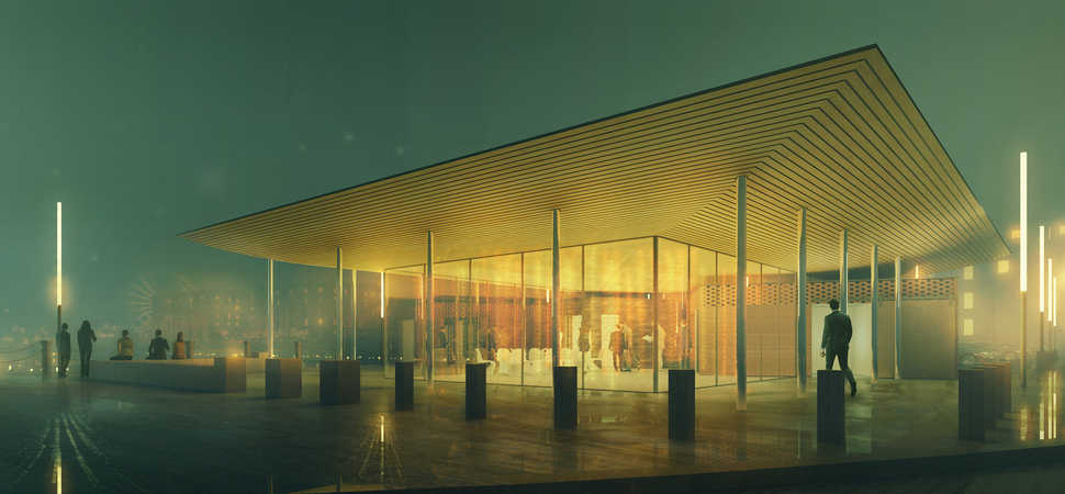 Welcome Pavilion on Albert Dock given green light approval