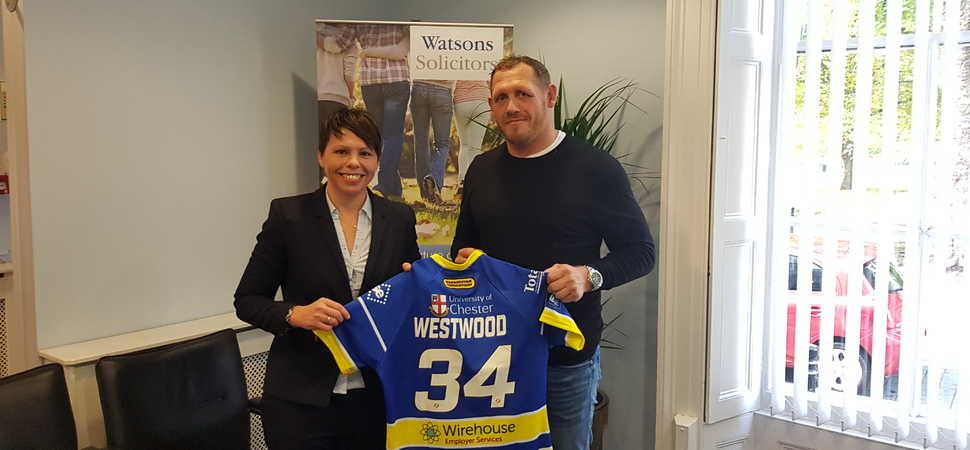 Warrington solicitors continue to team up with rugby charity as part of Will Week