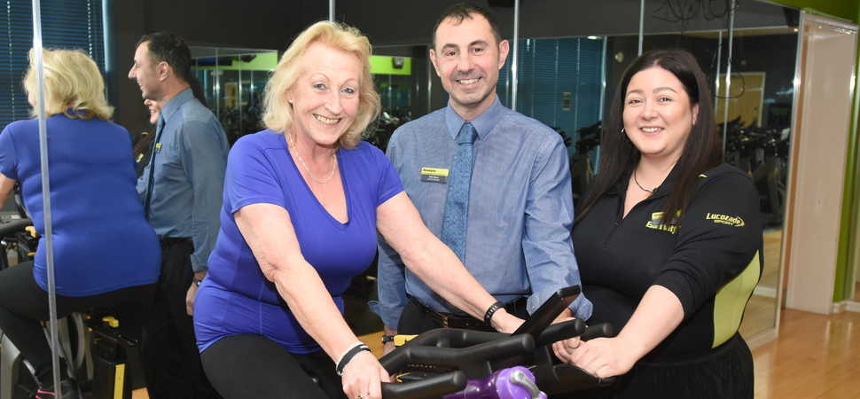 Registered disabled to fully mobile in six months thanks to local health club