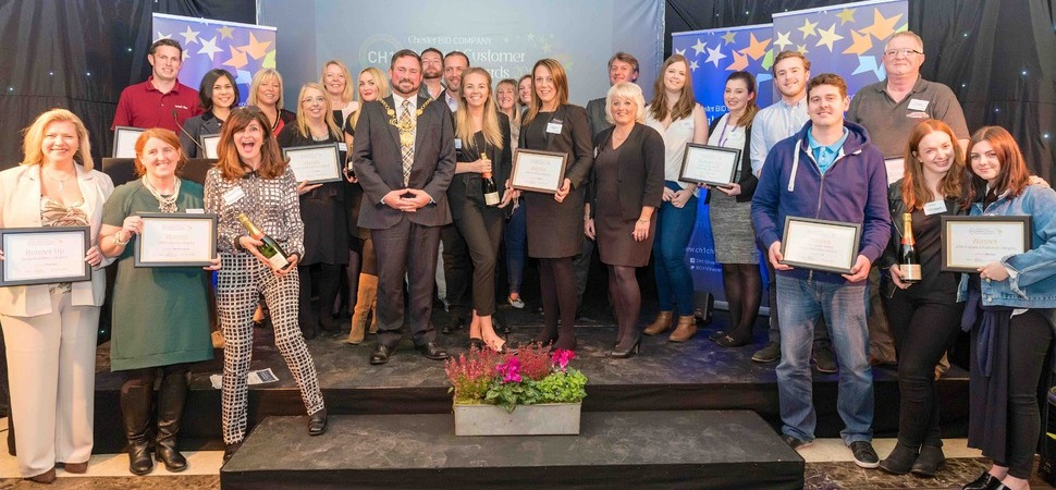 CH1ChesterBID set to crown retail stars at Customer Service Awards