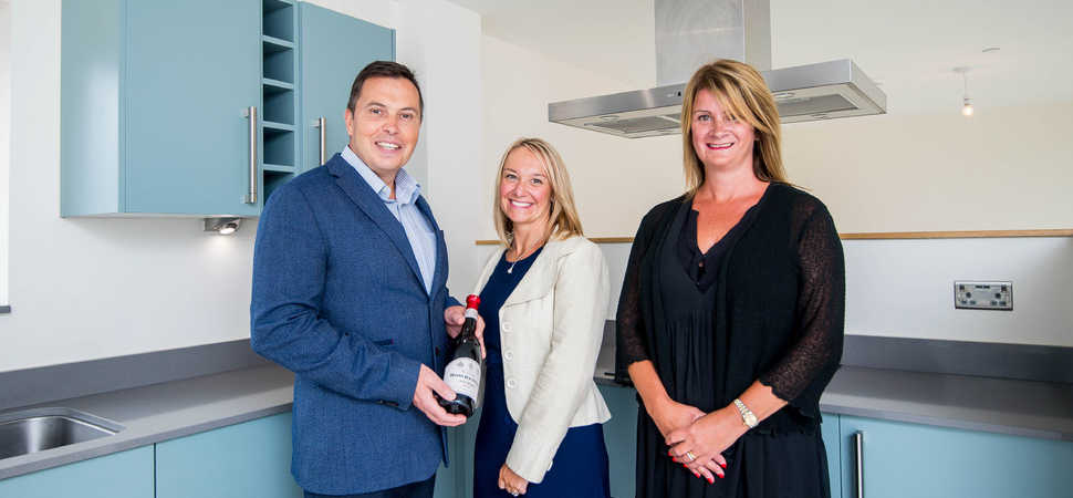 Raising a Glass To The Completion of Flagship SA1 Development