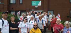 Sheltered Housing Pensioners 18-mile charity walk raises £5,000