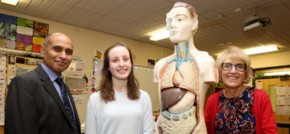 Helens hopes for career in medicine boosted by science award