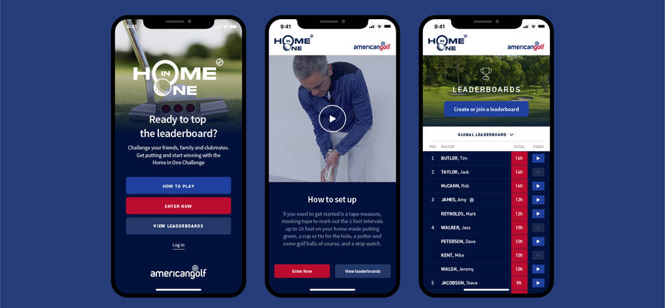 American Golf appoints Big Brand Ideas for online campaign during lockdown