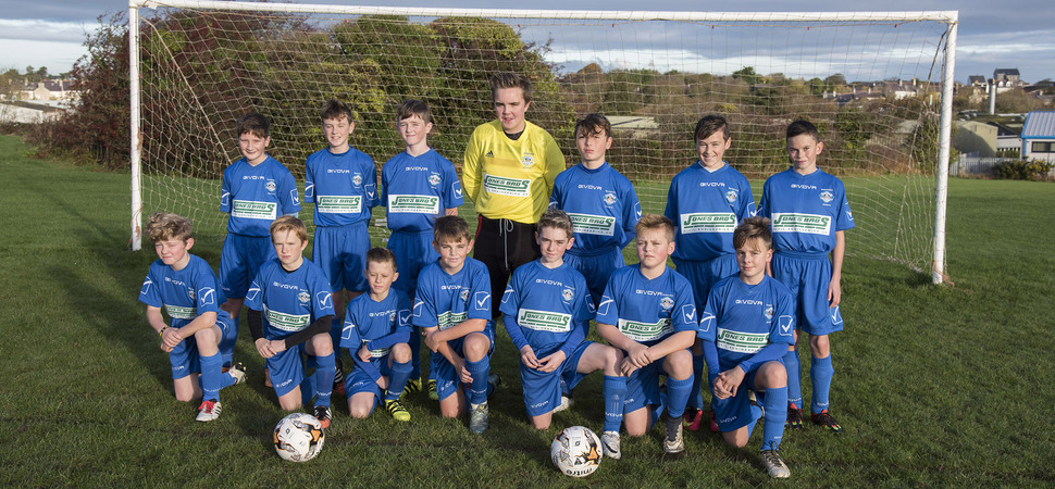 Jones Bros on the ball with Amlwch Town football sponsorship