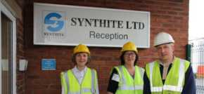 New liaison committee members tour Alyn Works manufacturing site