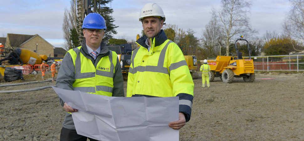 Work starts on multi-million pound Cambridge care home