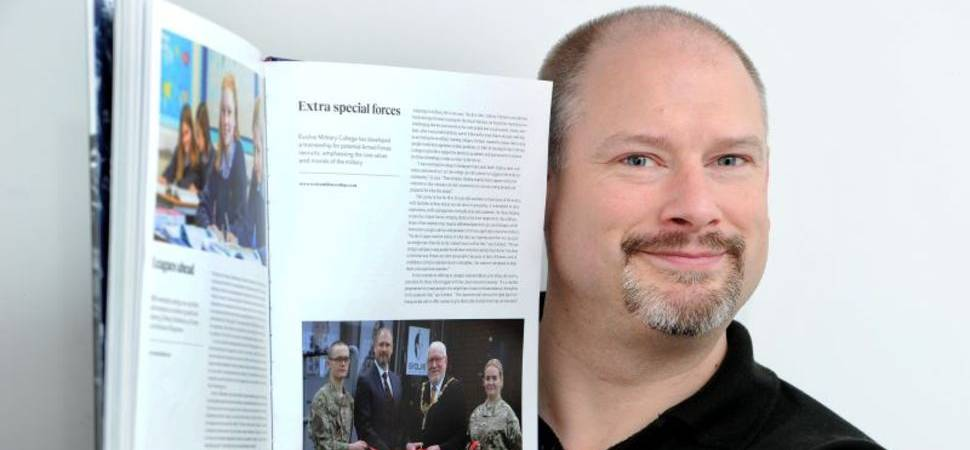 Evolve Military College Selected for VE Day 75 Souvenir Book