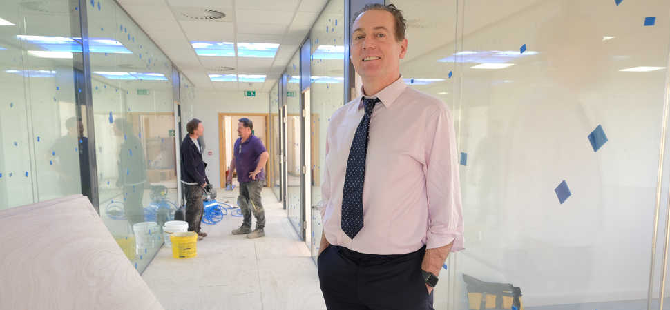 Stockton offices move up another level to meet demand