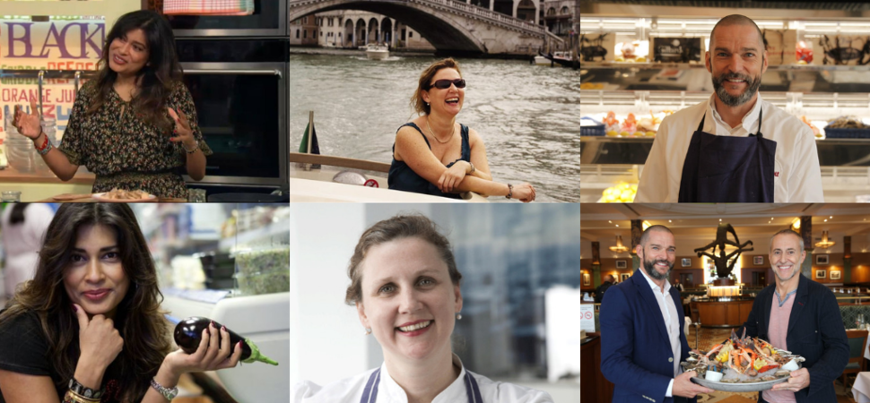 Remarkable Places to Eat new BBC2 Food and Travel Show with Angela Hartnett and Nisha Katona