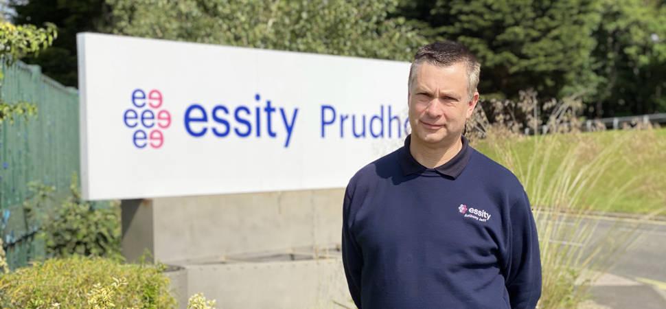 Essity appoints new trainer to lead award winning apprenticeship scheme
