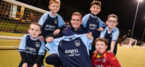 Rainhill Rockets FC celebrate new kits