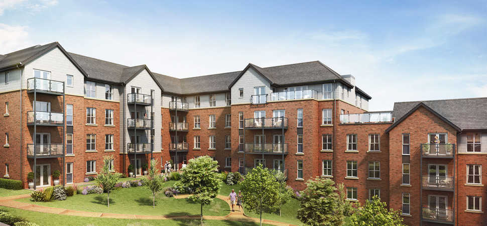 Building work begins on luxury retirement living apartments in Newcastle-under-Lyme