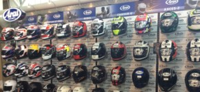 Lancashire Motorcycle Dealership Opens Europe's Largest Arai Pro Shop