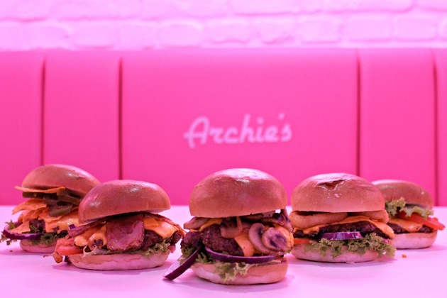 Archie's Burgers and Shakes unveils new handmade smashed burger menu