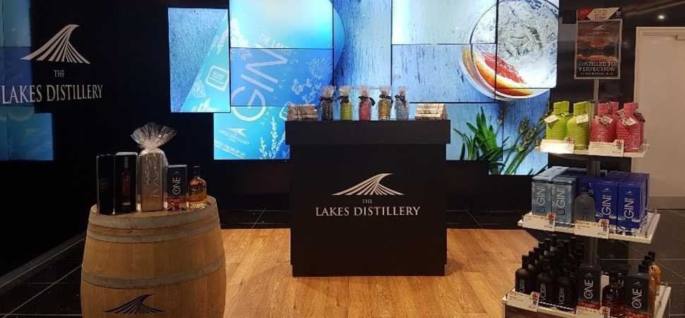 Lakes Distillery lands additional listings with World Duty Free