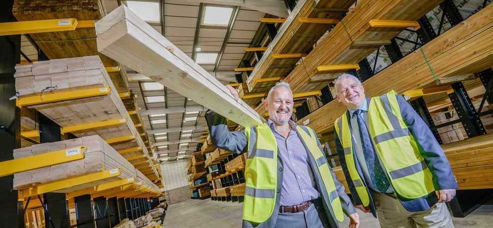 Final piece of the jigsaw at Midlands industrial estate as national timber firm moves in